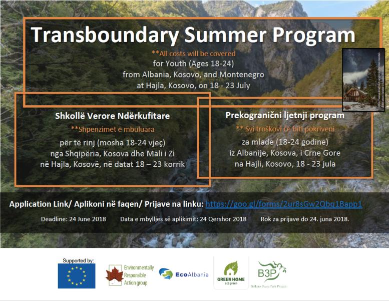 Transboundary Summer Program July 2018